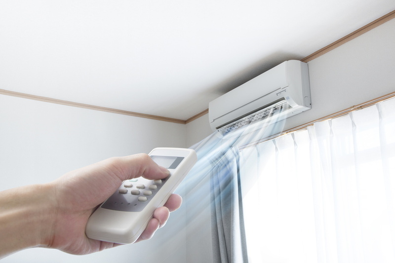 ductless-mini-split-blowing-cold-air